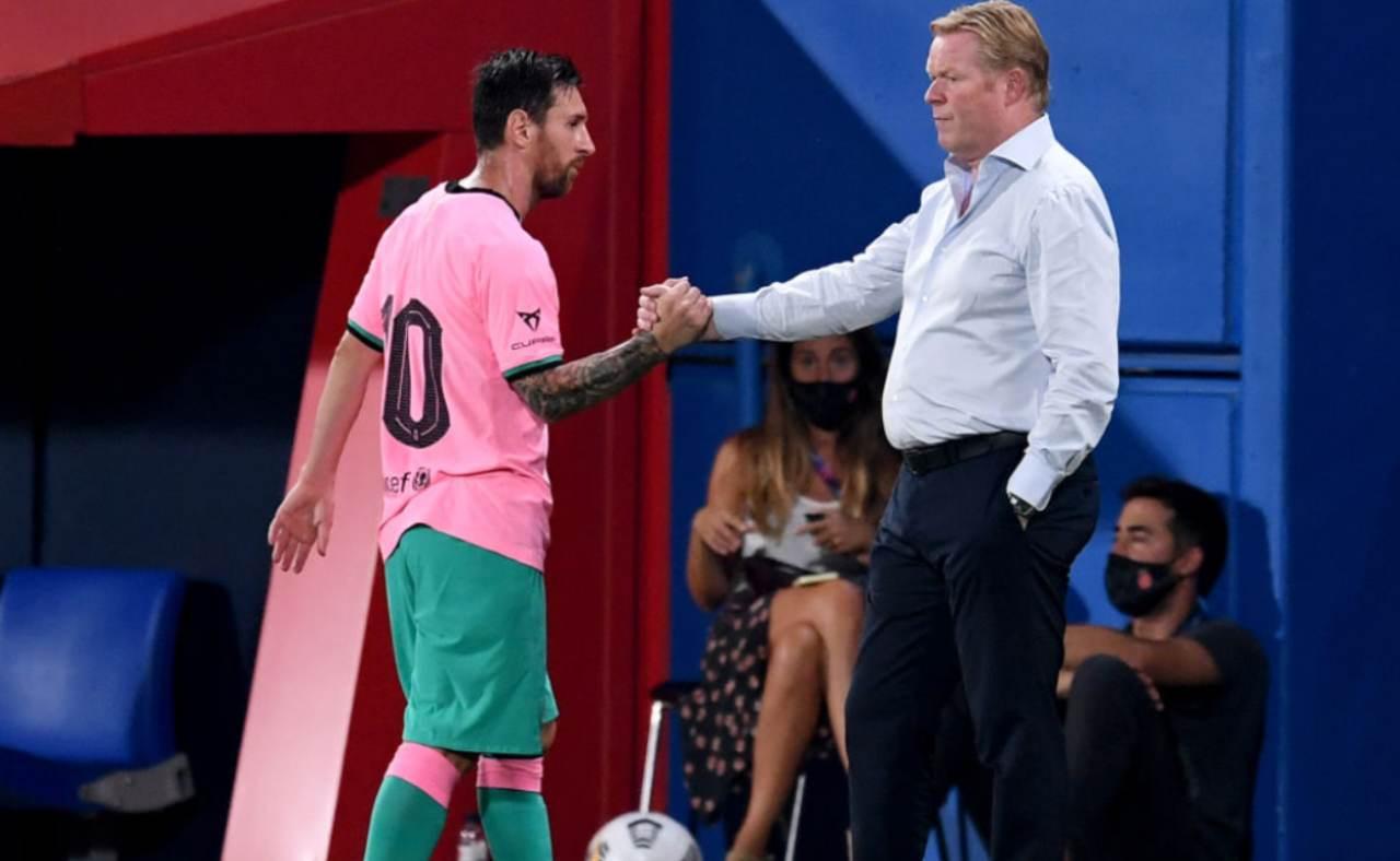 Koeman allenatore Barcellona
