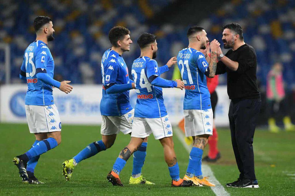 Atalanta-Napoli, Gattuso attaccato sui social (Getty Images)