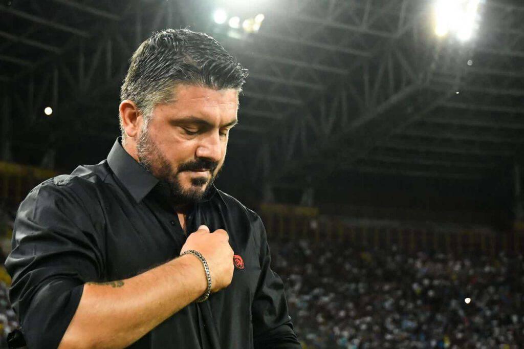Atalanta-Napoli, Gattuso bersagliato dai tifosi (Getty Images)