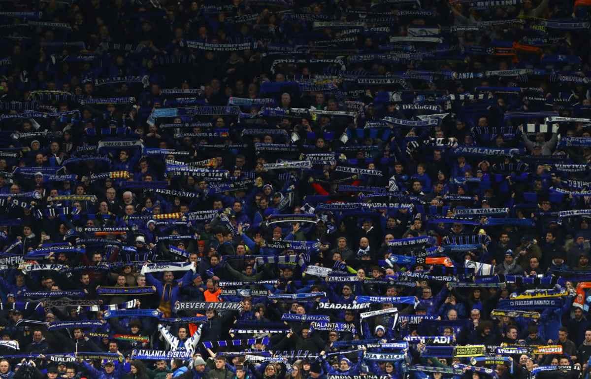 Atalanta Tifosi Real Madrid
