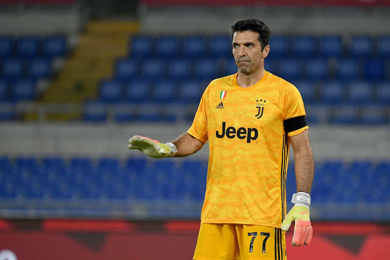Ritiro Buffon Juventus