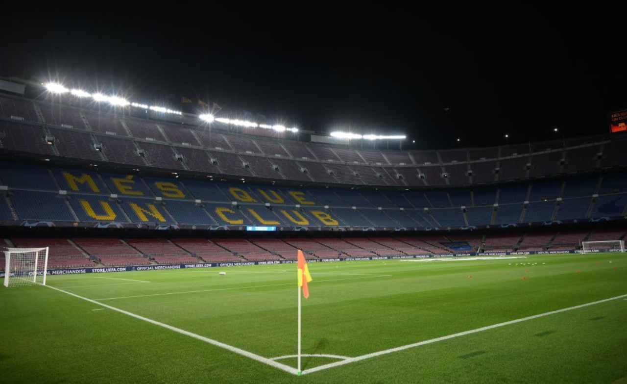 Camp Nou Barcellona Covid