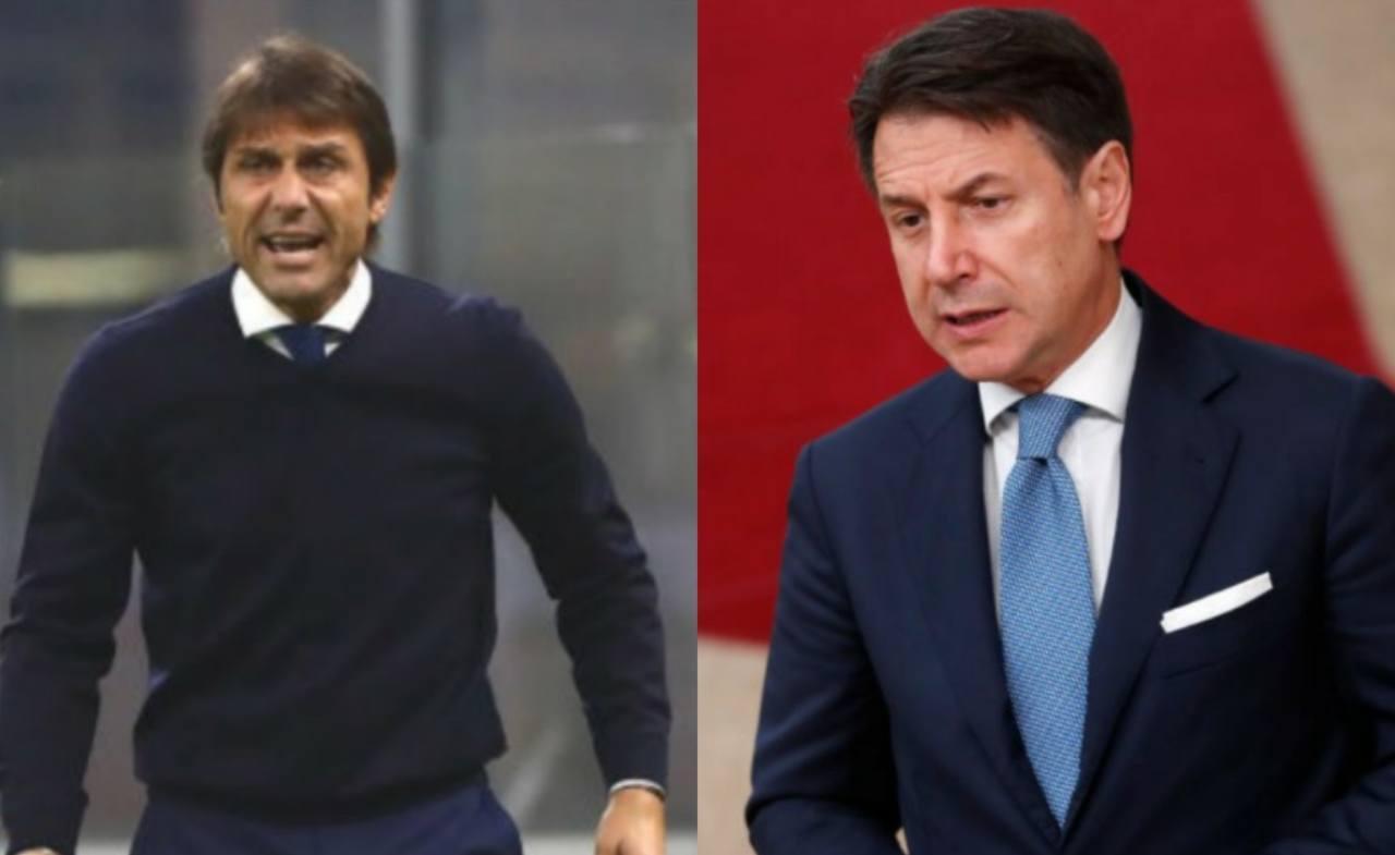 Conteout Inter-Juve crisi governo
