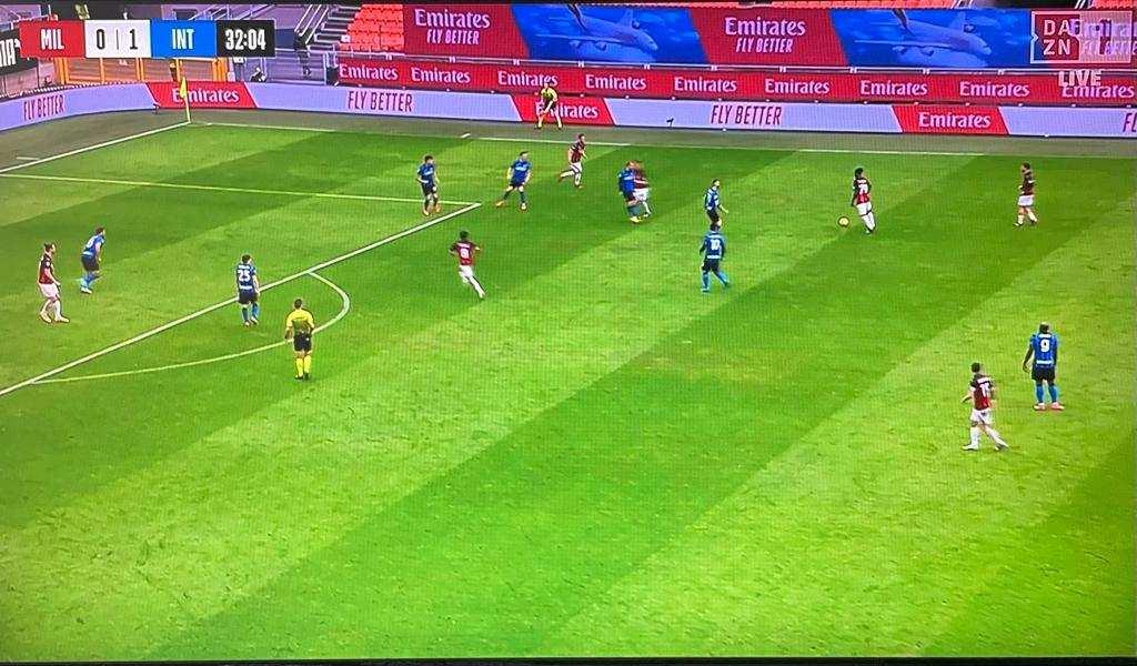 Dazn problemi durante Milan-Inter