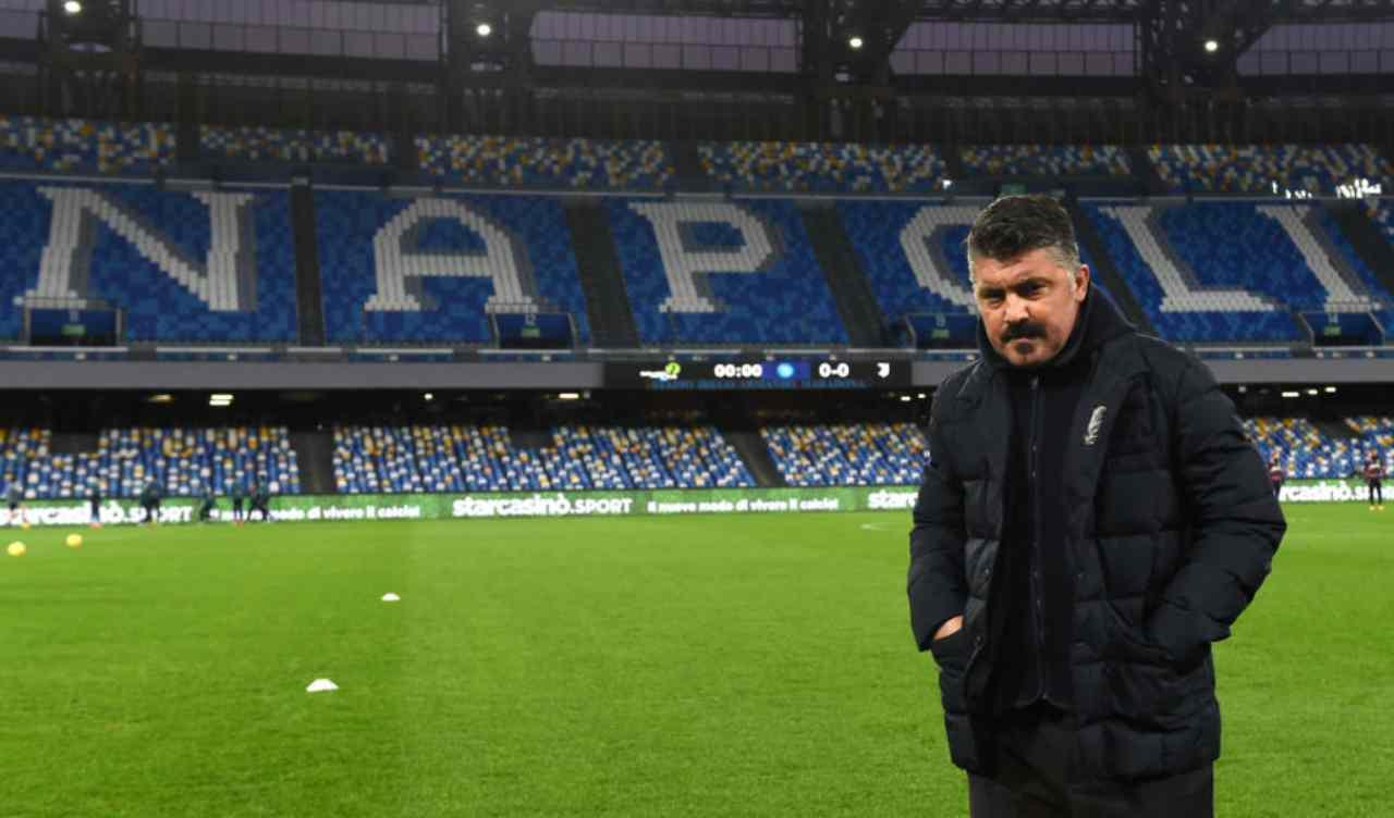 Gattuso De Laurentiis Napoli-Juve
