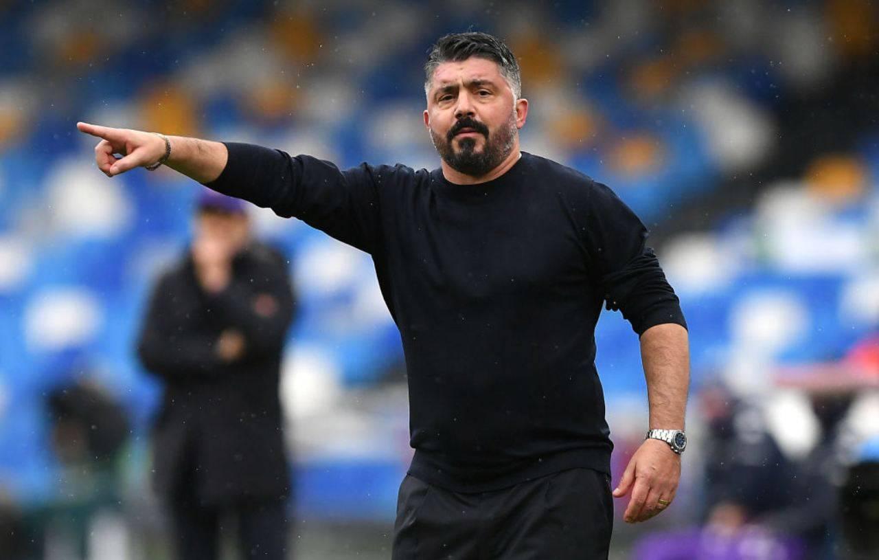 Gattuso Napoli Juventus