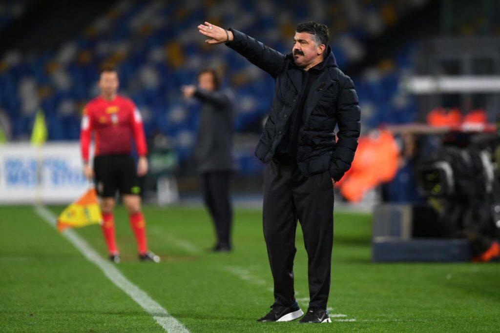 Napoli-Juventus, Gattuso evita l'esonero (Getty Images)
