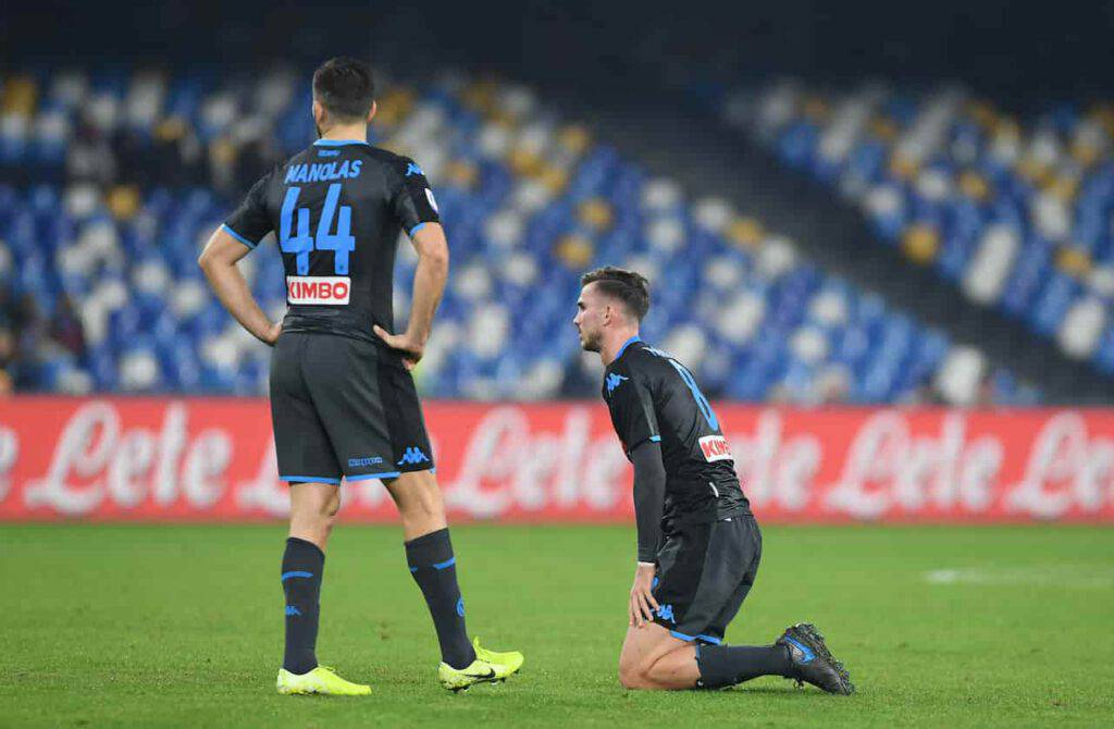 Genoa-Napoli, Manolas out (Getty Images)