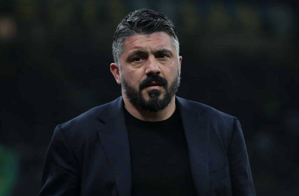 Granada-Napoli, Gattuso (Getty Images)