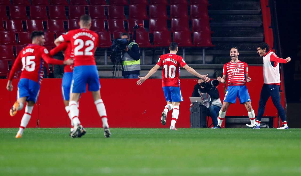 Granada Manchester United formazioni