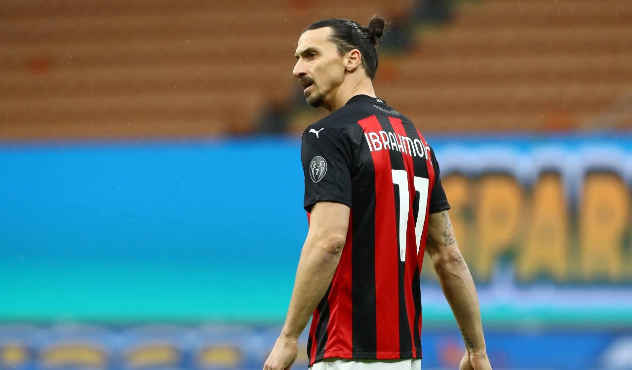 Ibrahimovic Milan Social