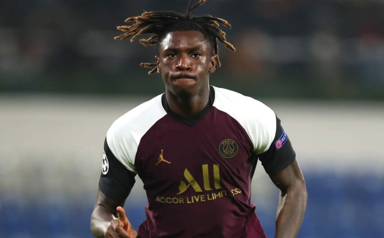 Moise Kean rimpianto Juventus