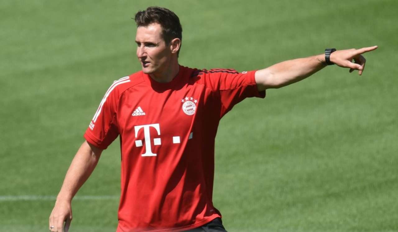 Klose Lazio-Bayern Monaco