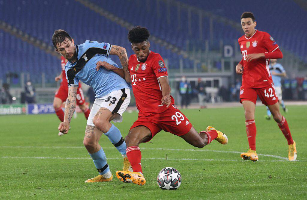 Lazio-Bayern sintesi
