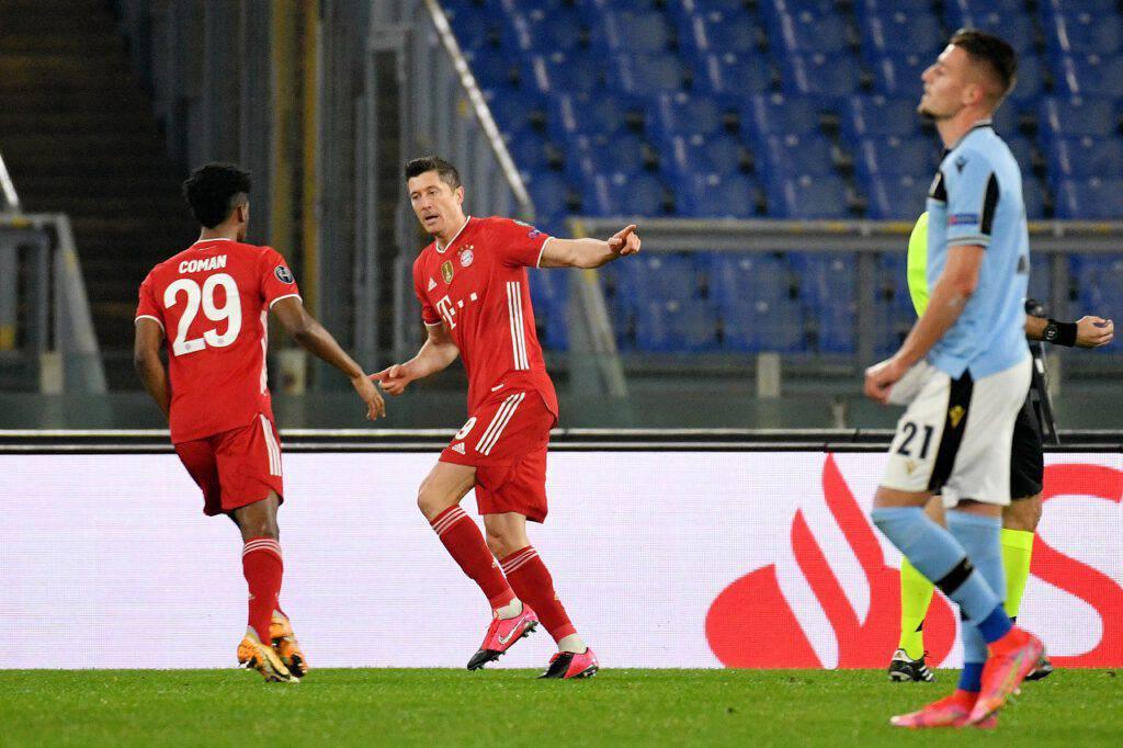 Lazio-Bayern highlights