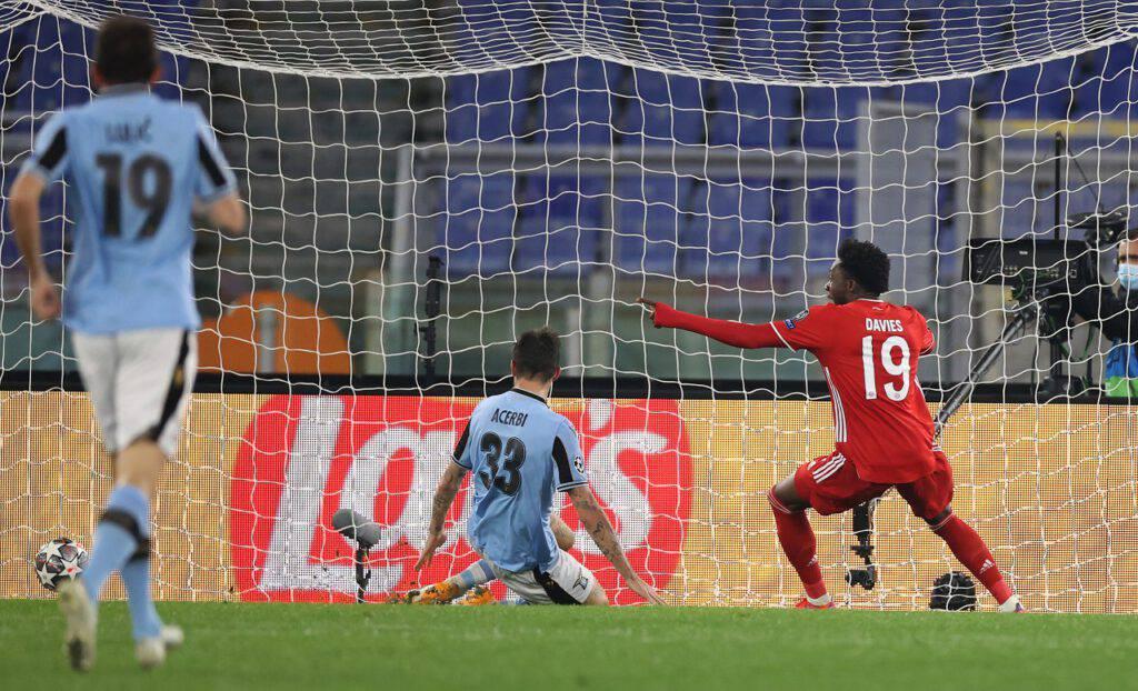 Lazio-Bayern reti subite