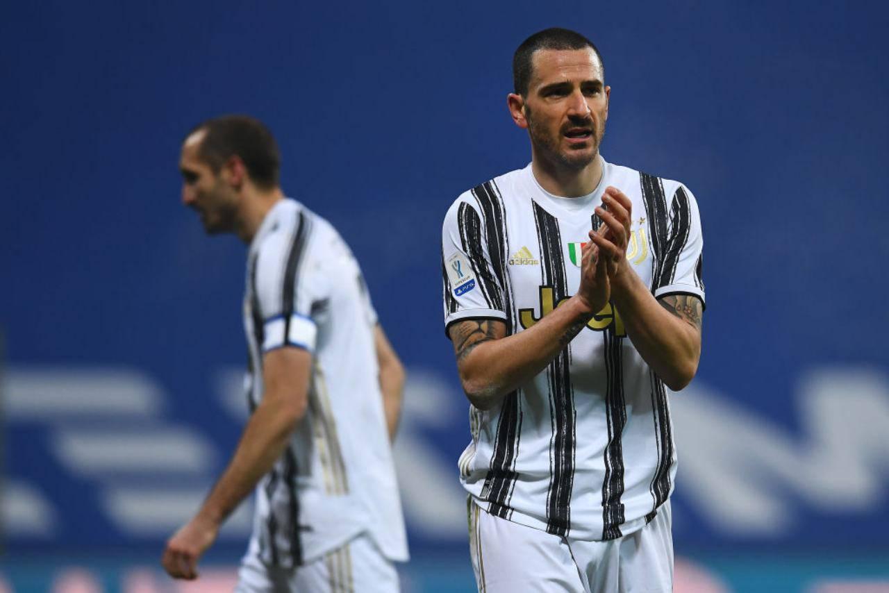 Bonucci Juventus infortunio