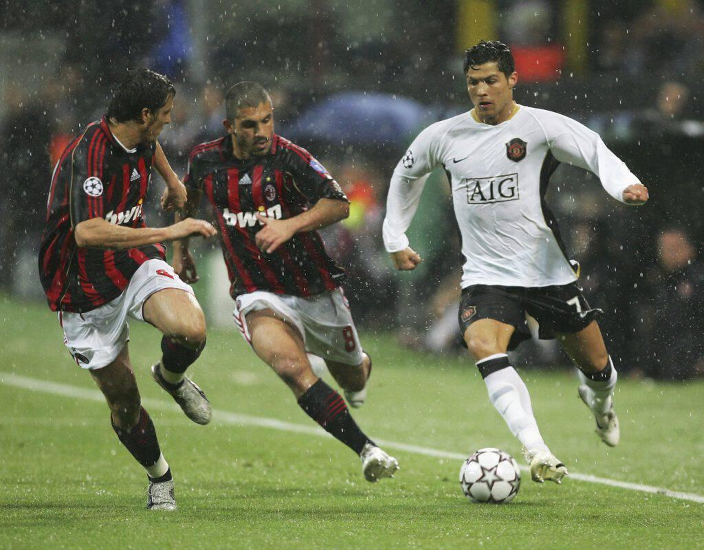 Manchester United Milan storia
