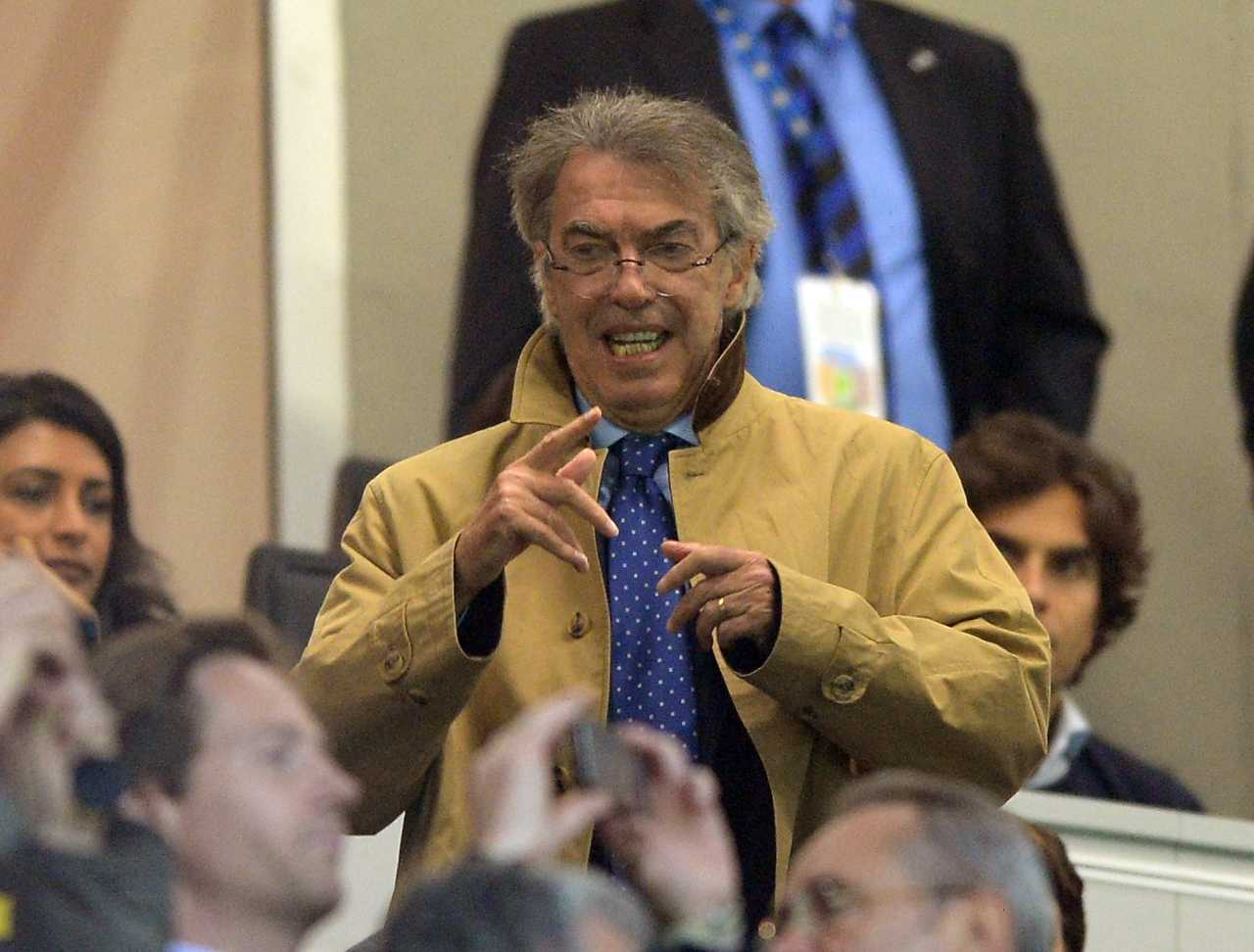 Moratti Juventus ritorno Inter