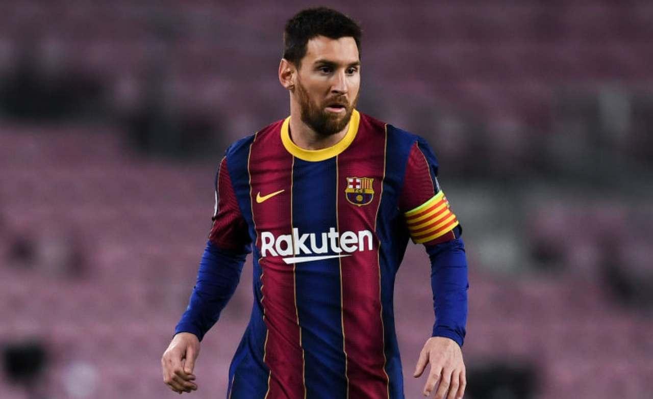 Messi Barcellona-PSG