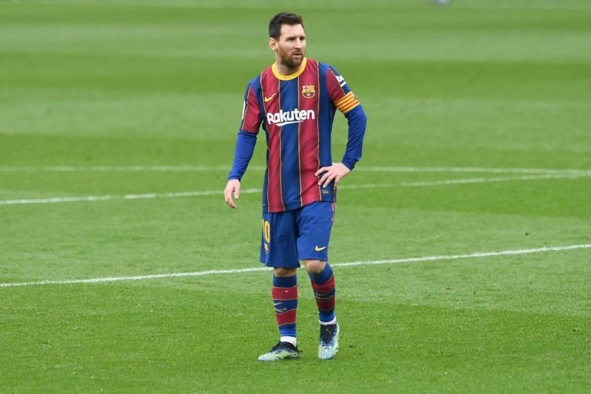 Messi Barcellona PSG