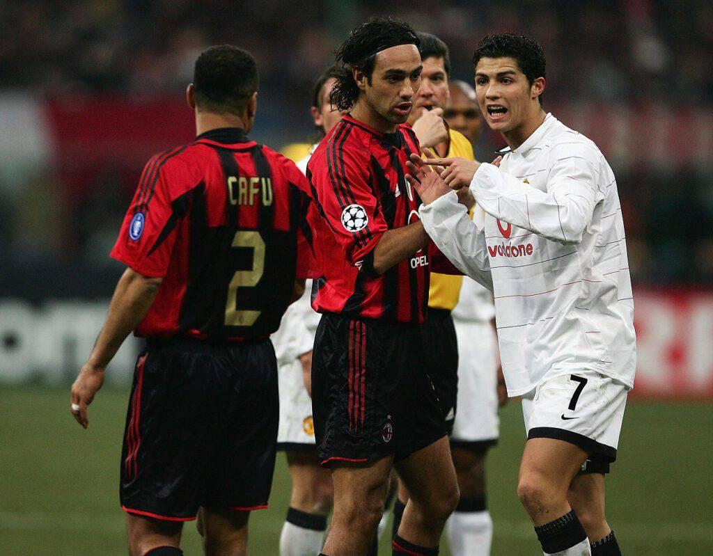 Milan-Manchester United precedenti