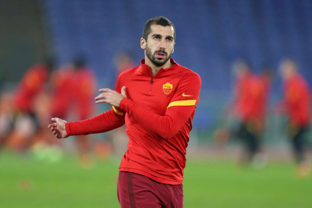 Mkhitaryan problemi in Roma-Shakhtar (Getty Images)