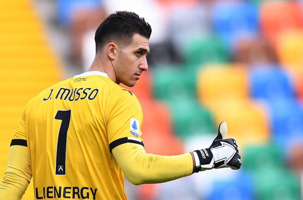 Musso Roma accordo Udinese