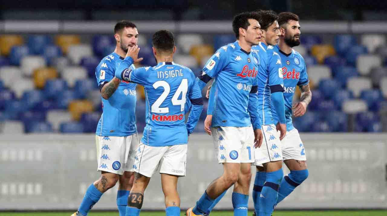 Atalanta-Napoli tv streaming