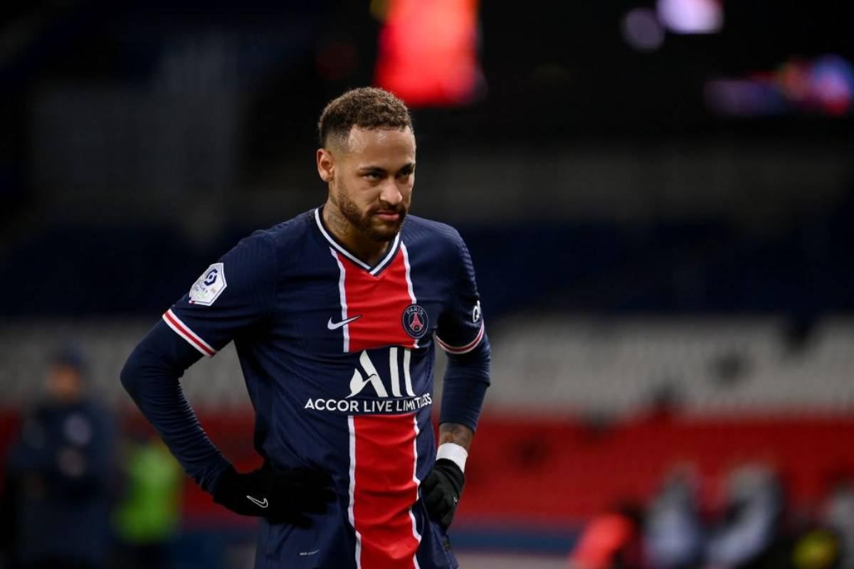 Neymar PSG Infortuni