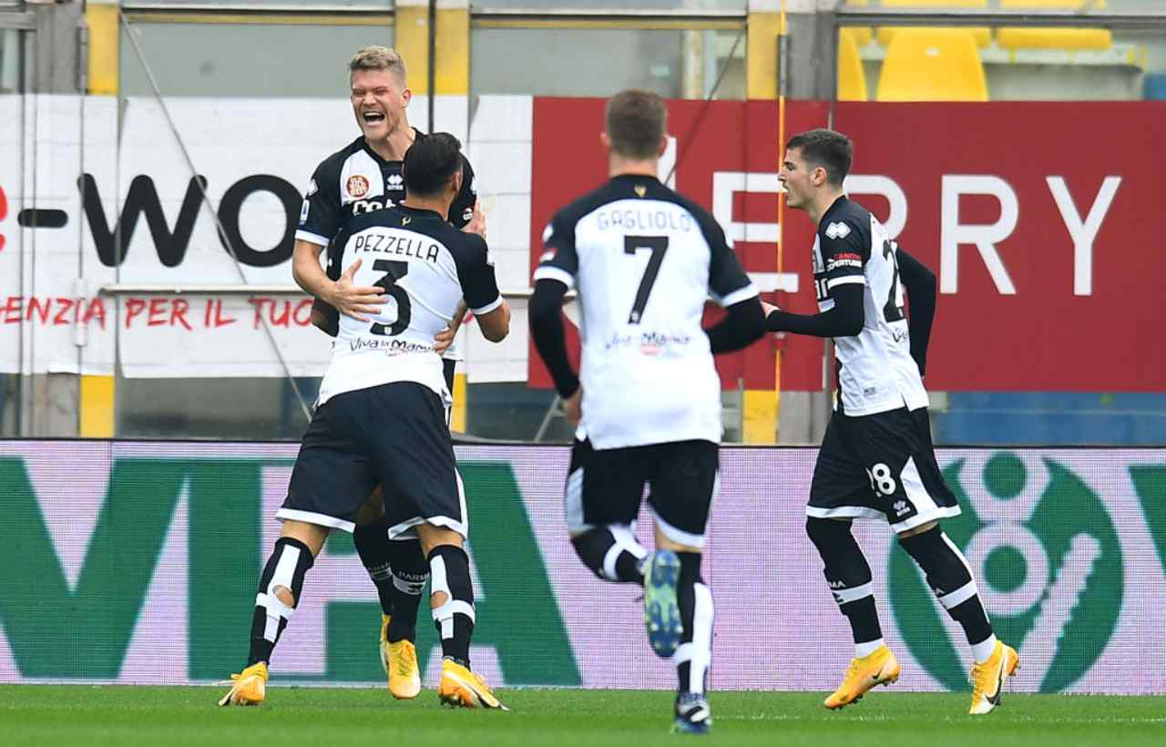 Parma Udinese Serie A