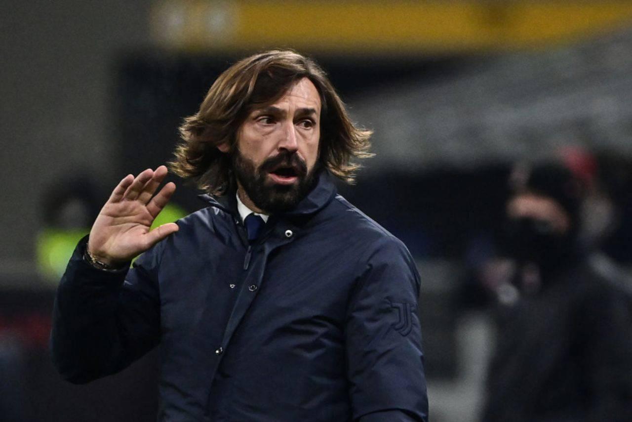 Andrea Pirlo, il grande sconfitto in Champions League insieme alla Juventus (Getty Images)