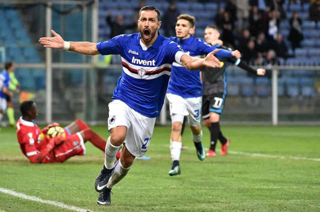 Quagliarella tratta il rinnovo con la Sampdoria (Getty Images)