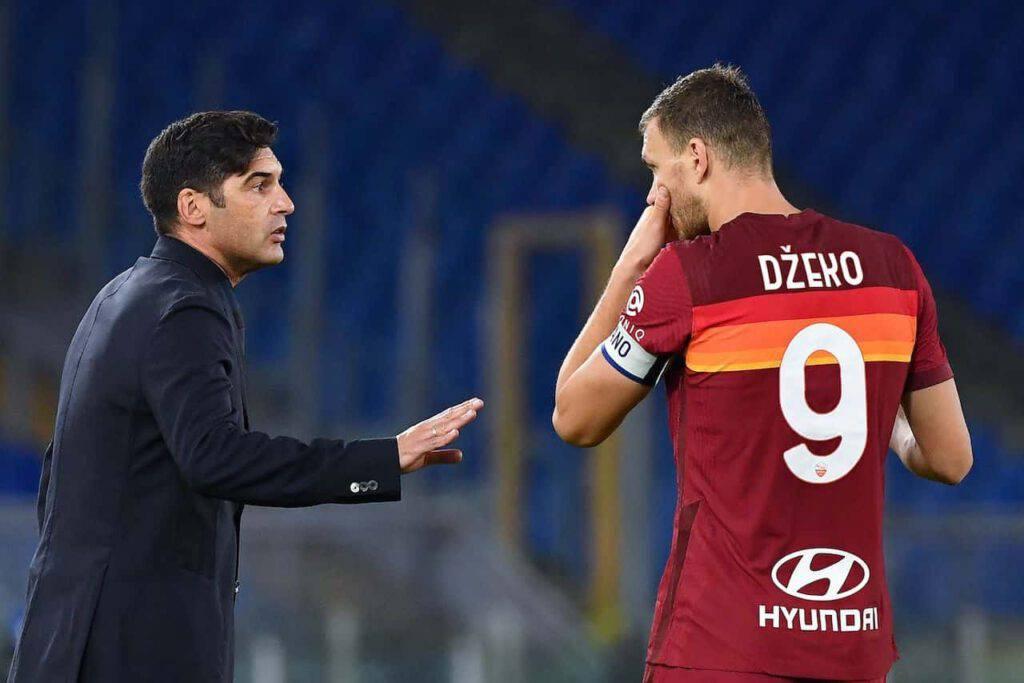 Roma, Dzeko ancora fuori contro l'Udinese (Getty Images)