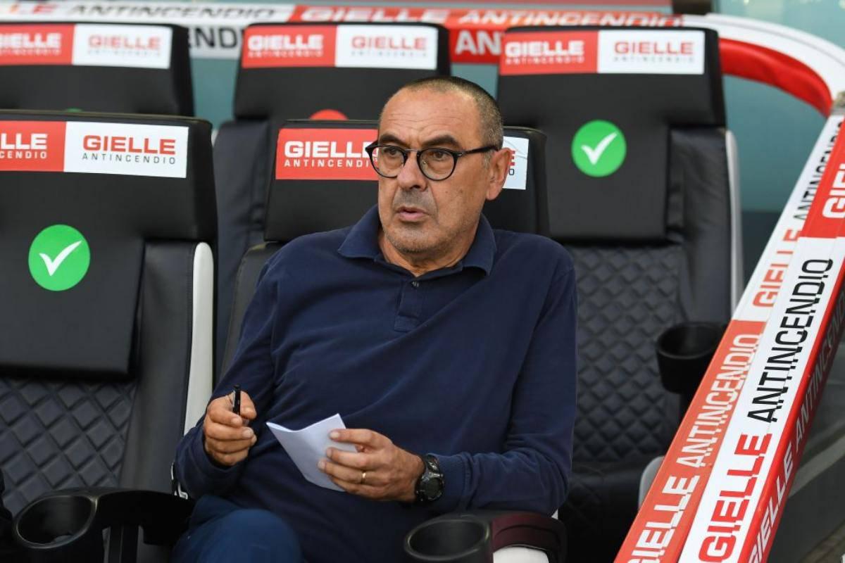 Sarri Marsiglia Juventus