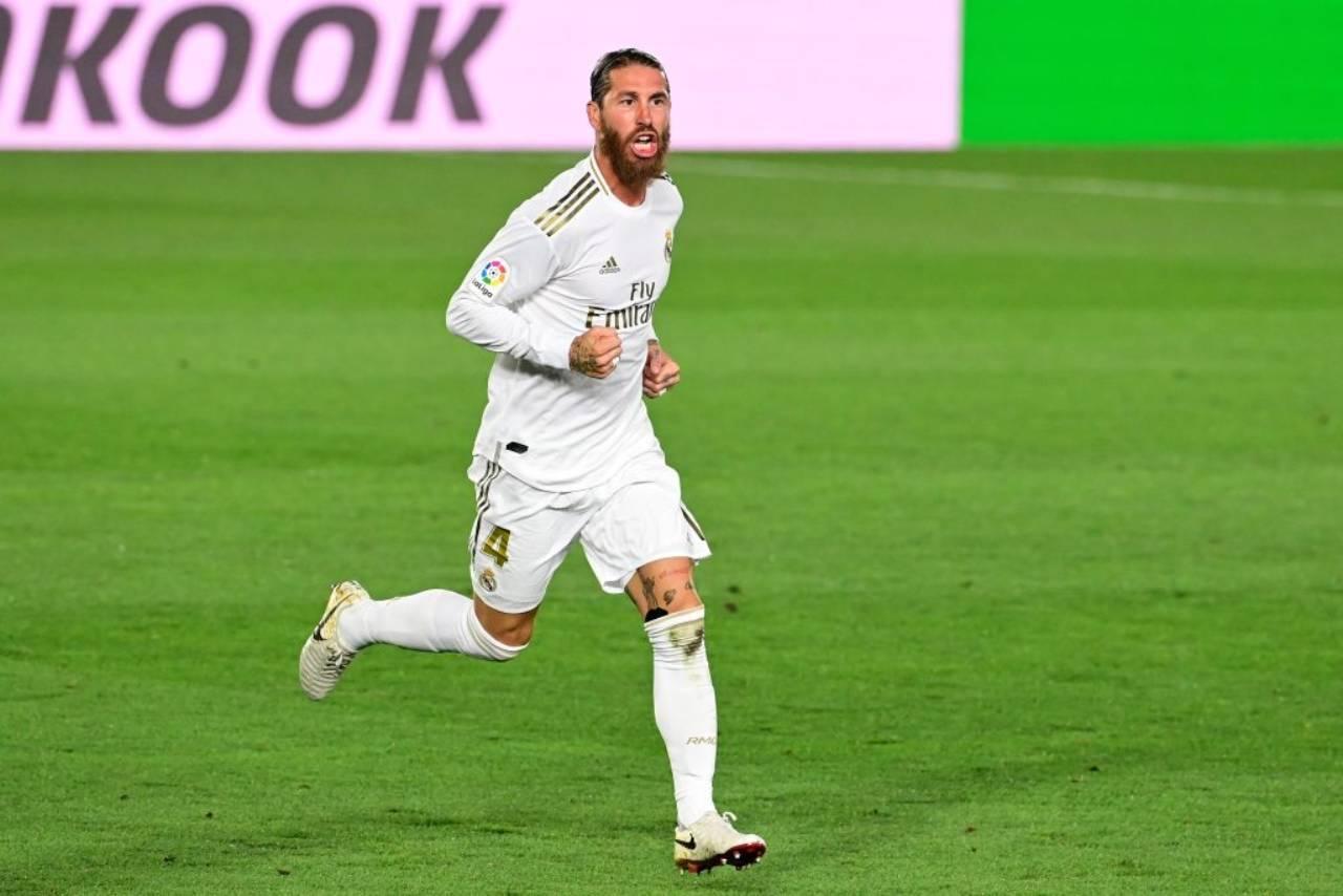 Sergio Ramos Juventus Tottenham Real Madrid