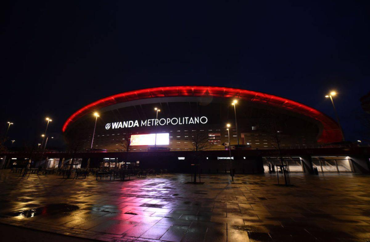 Wanda Metropolitano Covid