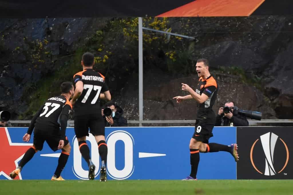 Dzeko torna al gol in Europa League (Getty Images)