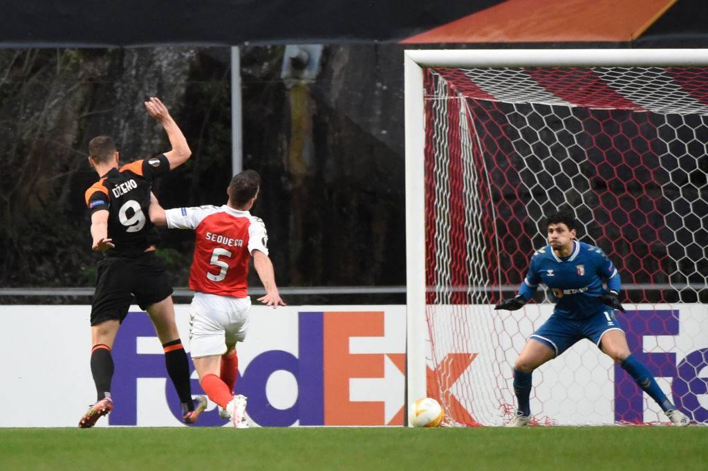 Dzeko, gol in Europa League alla prima da titolare (Getty Images)