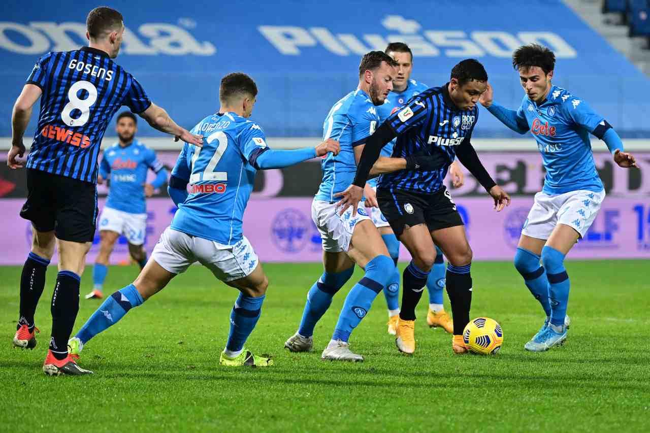 Atalanta-Napoli, i bergamaschi alla quinta finale in Coppa Italia (foto Getty)