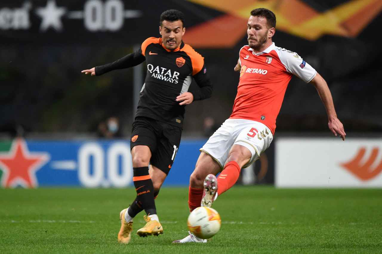 Europa League, Braga-Roma (foto Getty)