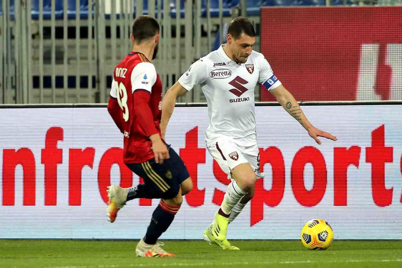 Serie A, highlights Cagliari-Torino: video
