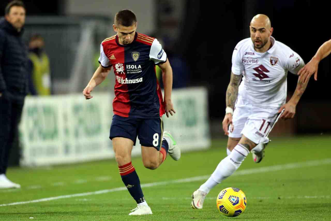 Serie A, highlights Cagliari-Torino: gol e sintesi partita - Video