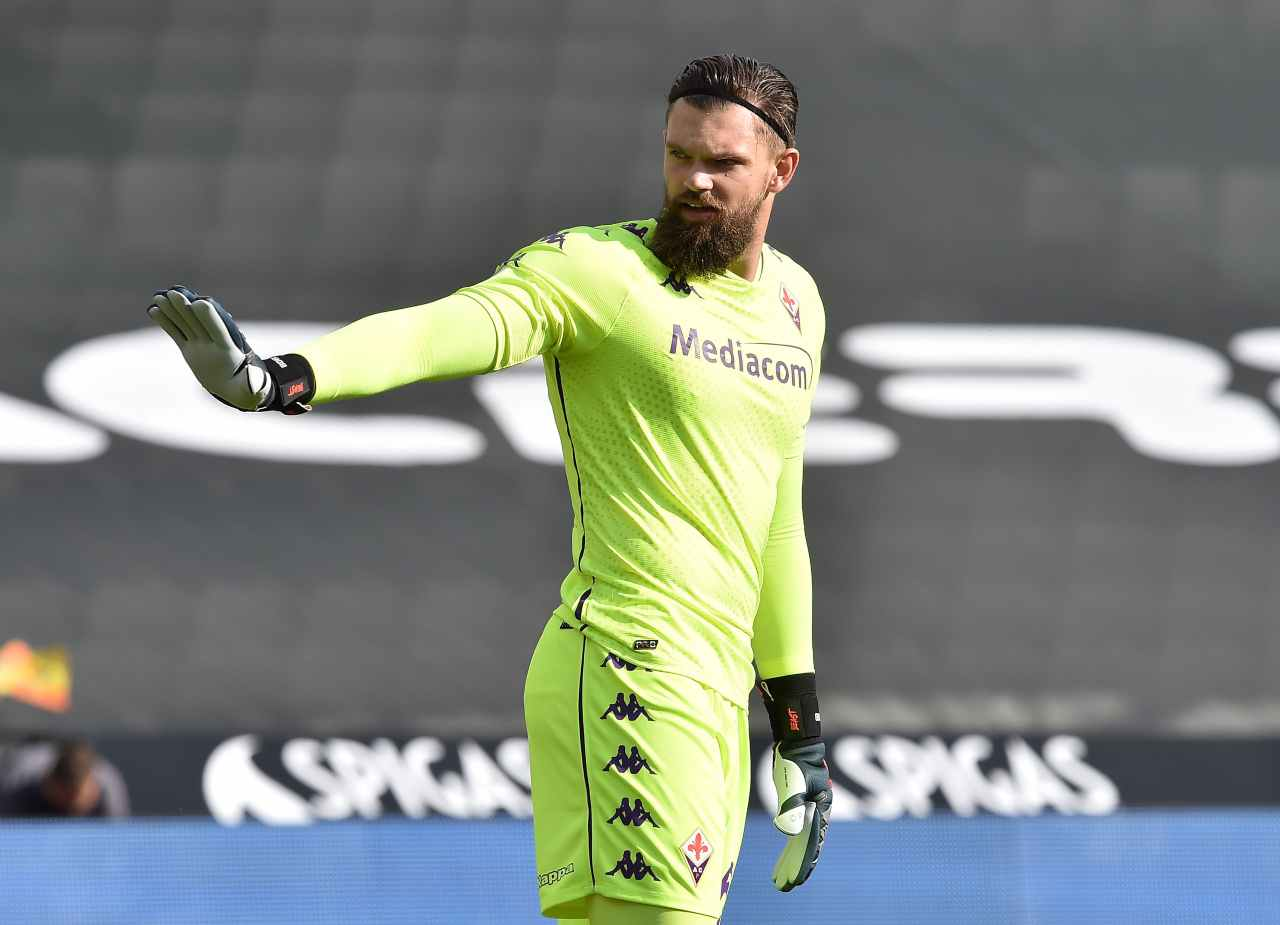Fiorentina-Inter, Caressa e la barba di Dragowski: