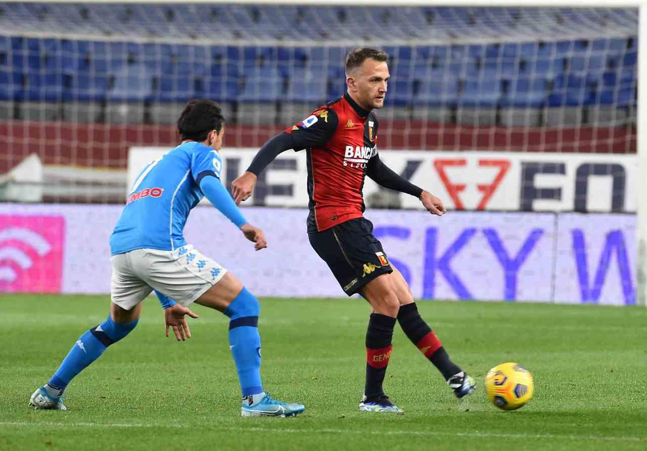 Serie A, highlights genoa-Napoli: gol e sintesi partita - Video