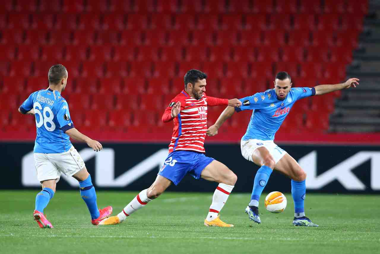 Europa League, highlights Granada-Napoli: gol e sintesi partita - Video