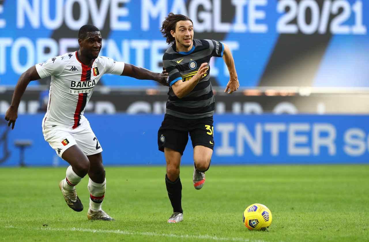 Inter, la partita di Darmian: la tattica