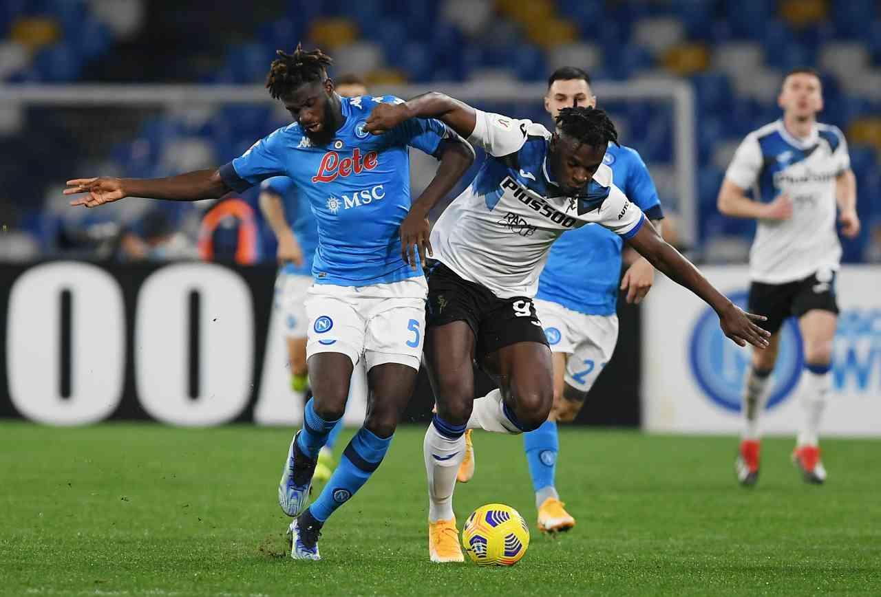 Coppa Italia, highlights Napoli-Atalanta: gol e sintesi partita - Video