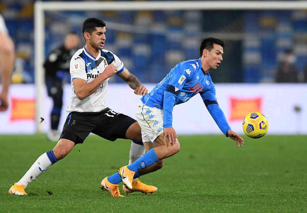 Coppa Italia, la sintesi di Napoli-Atalanta