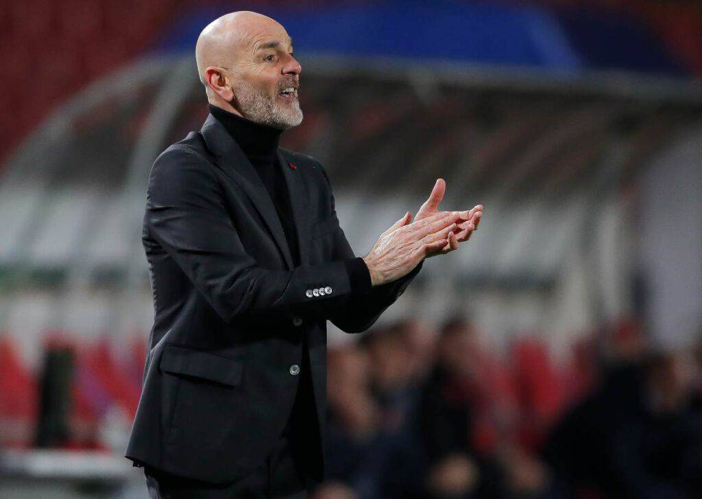 Milan-Stella Rossa, Pioli (Getty Images)